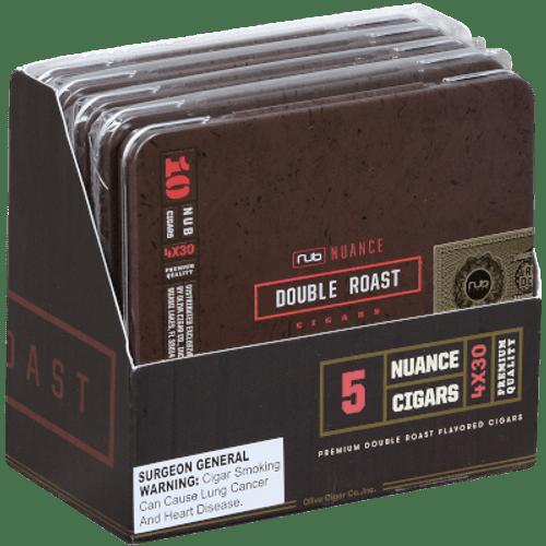 Nub Nuance Double Roast  Cigarillo 5/10 Tins 4.00X30