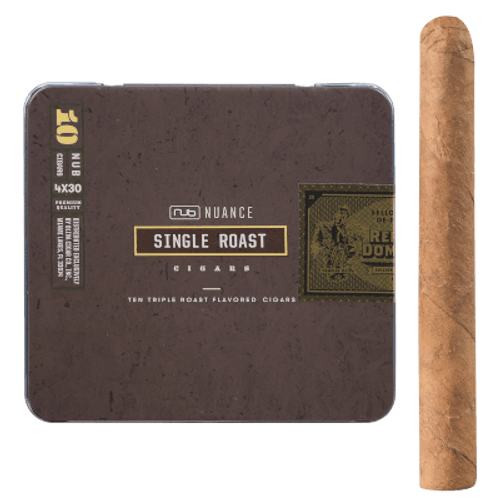Nub Nuance Single Roast Cigars 5/10 Tins 4.00X30