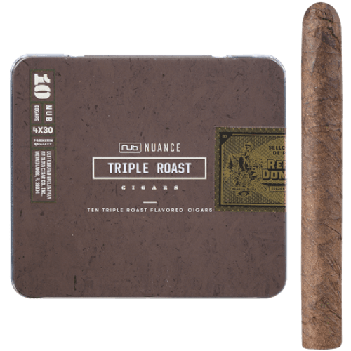 Nub Nuance Triple Roast Cigars 5/10 Tins 4.00X30