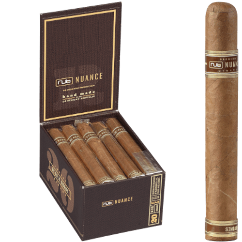 Nub Nuance Single Roast Cigar Corona 542 20 Ct. Box 5.00X42