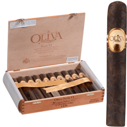 Oliva Serie O Cigars Maduro Double Toro 10 Ct. Box 6.00X60