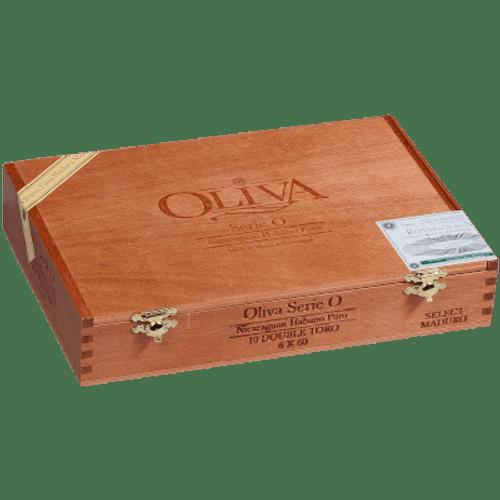 Oliva Serie O Cigars Maduro Double Toro 10 Ct. Box 6.00X60