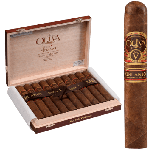 Oliva Serie V Melanio Cigar Double Toro 10 Ct. Box 6.00X60