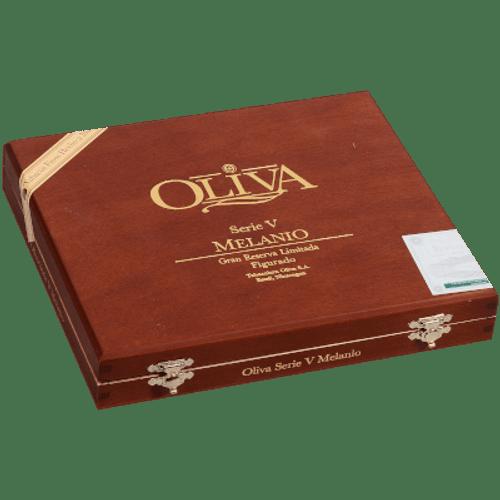 Oliva Serie V Melanio Cigars Figurado 10 Ct. Box 6.50X52