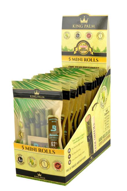 King Palm Wrap Pouches  Mini Rolls 15 Pouches