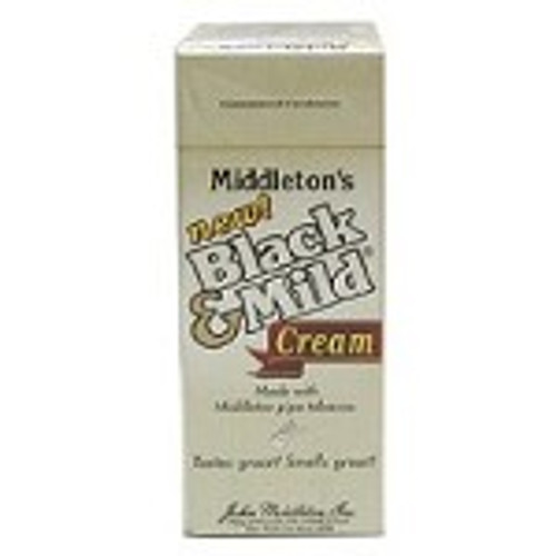 Black & Mild Cream Cigars Box