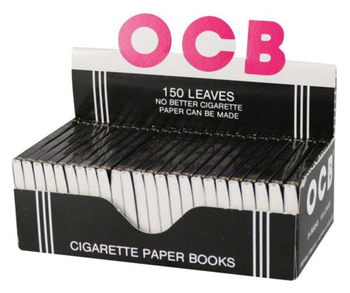 "OCB Ungummed Cigarette Papers - 1.5"" / 24pc Display"