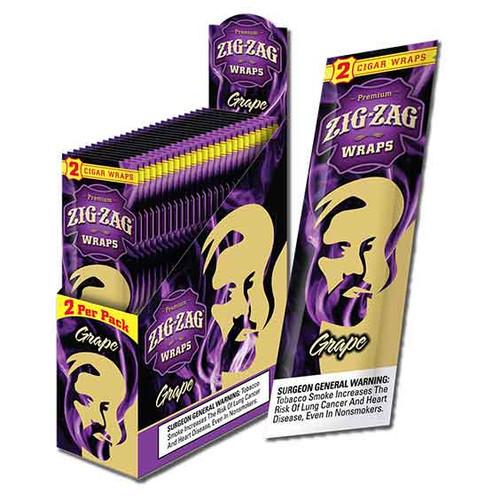 Zig Zag Wraps Grape 2 for 99c