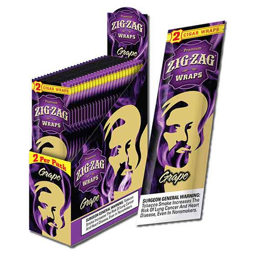Zig Zag Wraps Grape 2 for 99c