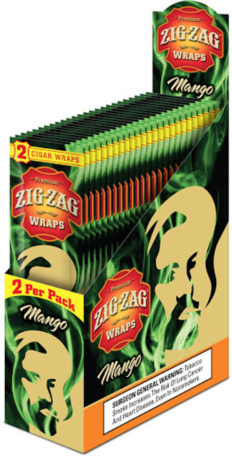 Zig Zag Wraps Mango 2 for 99c
