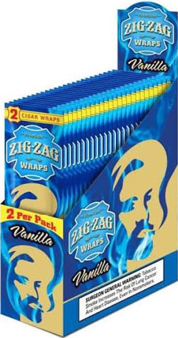 Zig Zag Wraps Vanilla 2 for 99c
