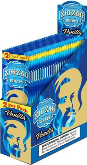Zig Zag Wraps Vanilla 2 for 99c
