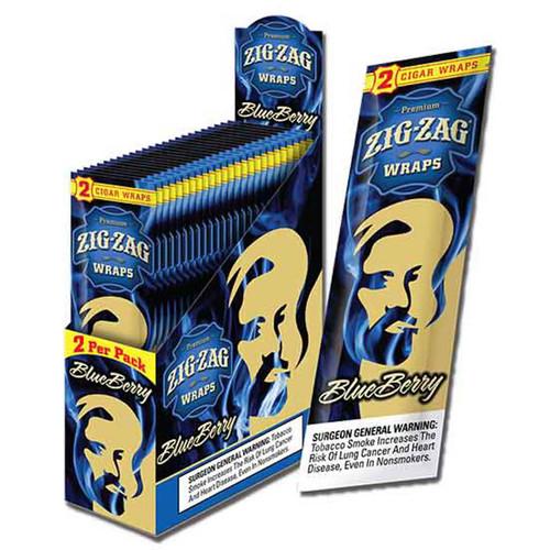 Zig Zag Wraps Blueberry 2 for 99c