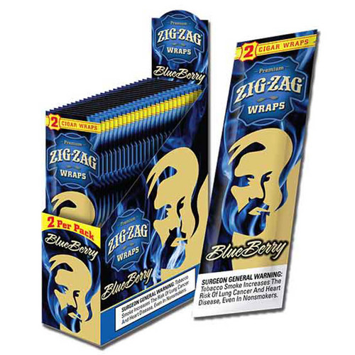 Zig Zag Wraps Blueberry 2 for 99c