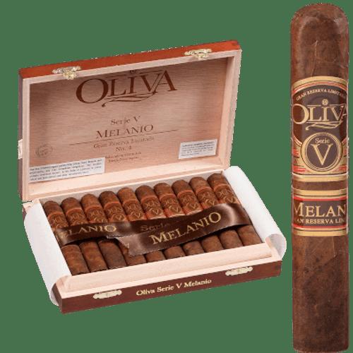 Oliva Serie V Melanio Cigar Petit Corona #4 10 Ct. Box