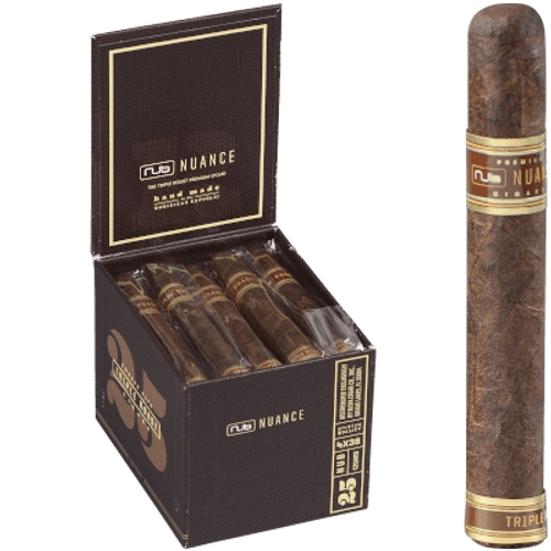Nub Nuance Triple Roast Cigar 438 Petit Corona 25 Ct. Box