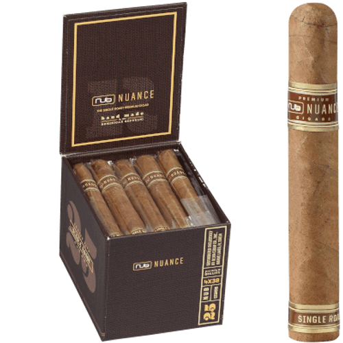 Nub Nuance Single Roast Cigar Petit Corona 438 25 Ct. Box