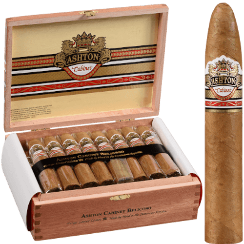 Ashton Cabinet Cigar Belicoso 25 Ct. Box