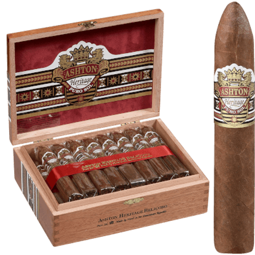 Ashton Heritage Puro Sol Cigar Belicoso #2 25 Ct. Box