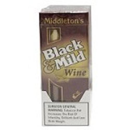 Black & Mild Wine Cigars Pack