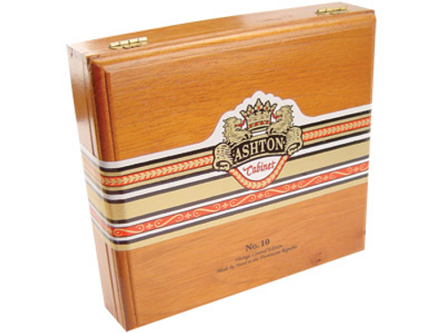 Ashton Cabinet Cigar  #10 Churchill 20 Ct. Box