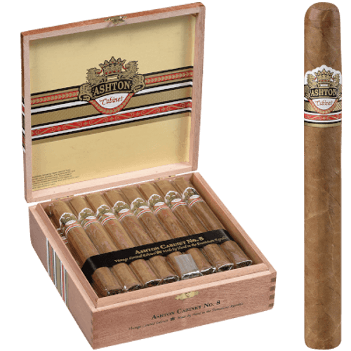 Ashton Cabinet Cigar #8 Churchill 25 Ct. Box