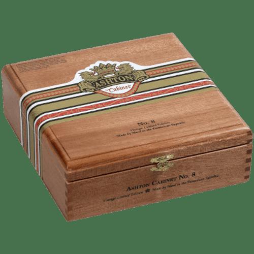 Ashton Cabinet Cigar #8 Churchill 25 Ct. Box