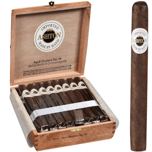 Ashton Aged Cigar Maduro #50 25 Ct. Box