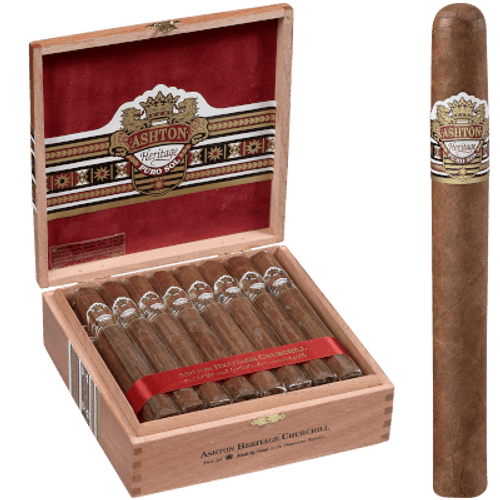 Ashton Heritage Puro Sol Cigar Churchill 25 Ct. Box