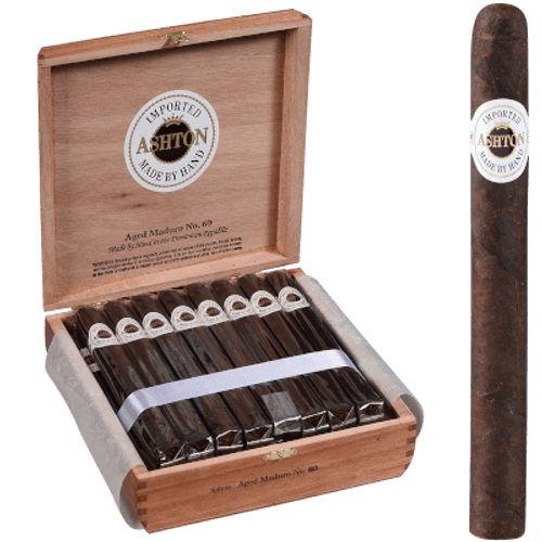 Ashton Aged Maduro Cigar #60 Churchill 25 Ct. Box