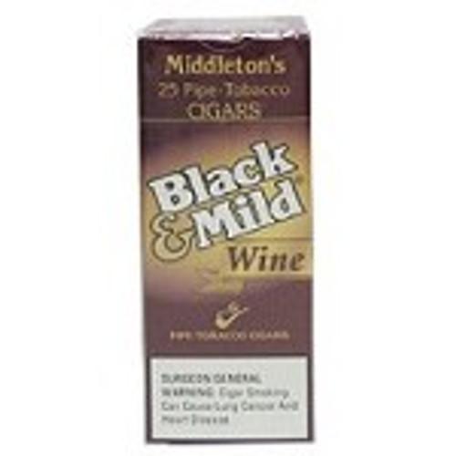 Black & Mild Wine Cigars Box