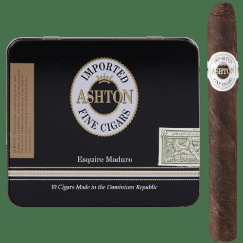 Ashton Classic Esquire Cigars Maduro 10/10 Tins