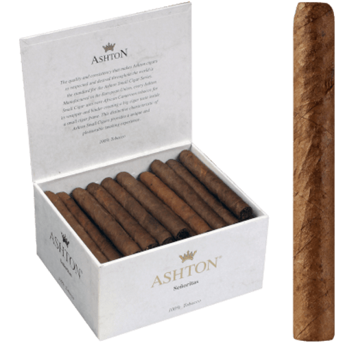Ashton Senoritas Cigars 50 Ct. Box