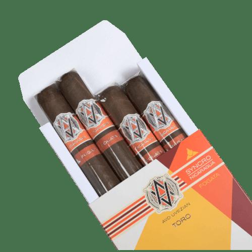 AVO Syncro Fogata Cigar Sampler 4 Ct. Pack