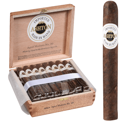 Ashton Aged Cigar Maduro #20 25 Ct. Box