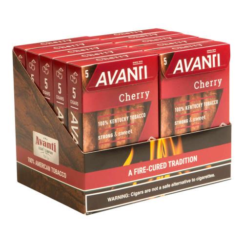 Avanti Cherry Cigar 10/5 Packs