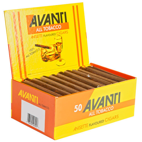 Avanti Single Cigar Parejo 50 Box