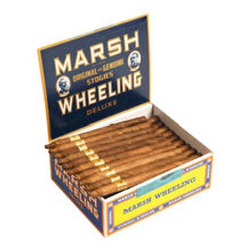 Marsh Wheeling Deluxe Light Cigar 50 Box.