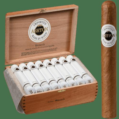 Ashton Classic Monarch Aluminum Tube Cigar 24 Ct. Box
