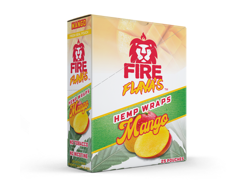 Fire Flavas Hemp Wraps All Flavors 25Ct