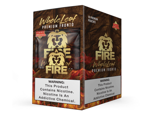 Fire Whole Leaf 10 Pouches