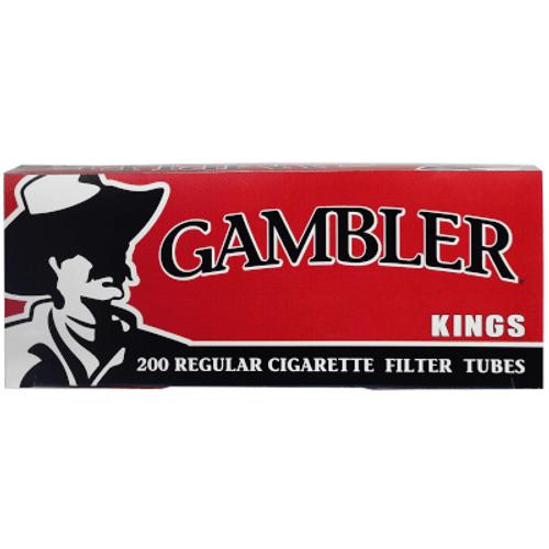 Gambler Cigarette Filter Tubes King Size Regular 5/200 Ct. Boxes