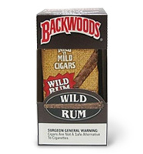 Backwoods Wild Rum Cigars 8/5 Ct.