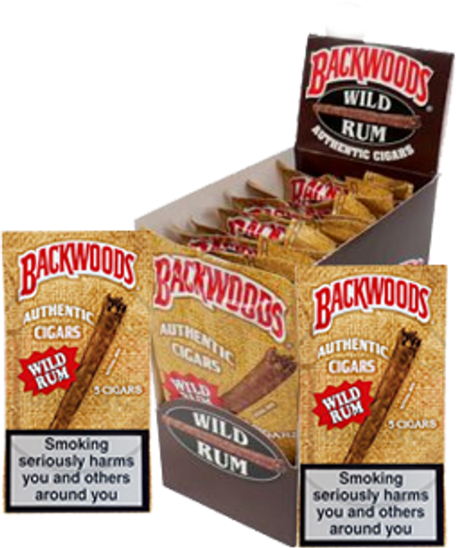 Backwoods Wild Rum Cigars 24 Ct.