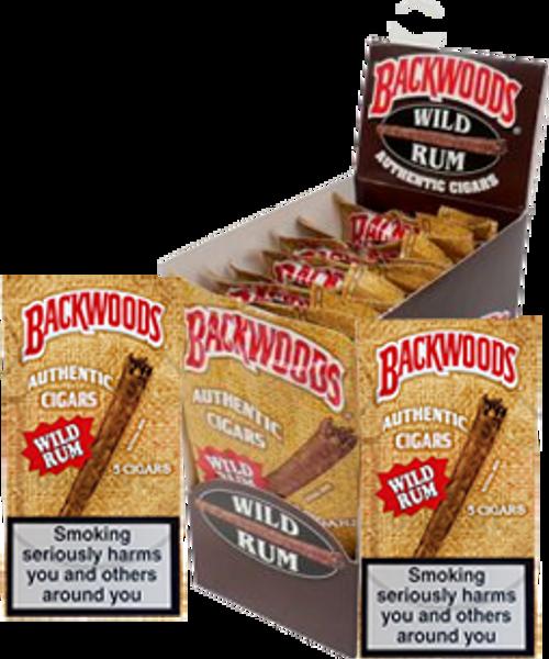 Backwoods Wild Rum Cigars 24 Ct.