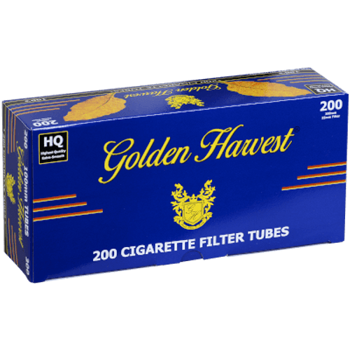 Golden Harvest Blue 100mm Tubes 200Ct. Carton