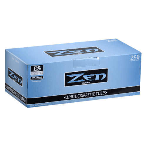 Zen Cigarette Filter Tubes King Size White 250 Ct. Box