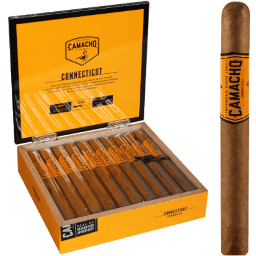 "Camacho Connecticut Churchill 20 Ct. Box 7""X48"
