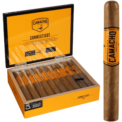 "Camacho Connecticut Toro 20 Ct. Box 6""X50"