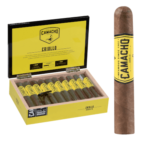 "Camacho Criollo Cigar Robusto 20 Ct. Box 5""X50"
